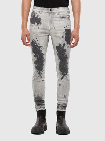 Diesel - D-Amny 009GM, Hellgrau - Jeans - Image 1