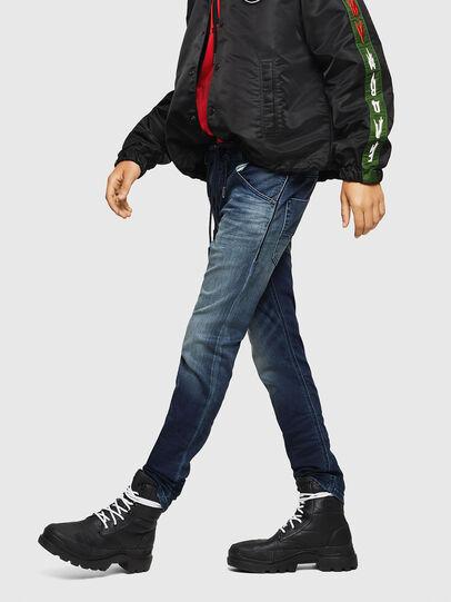 Diesel - Krooley JoggJeans 069HH, Dunkelblau - Jeans - Image 4