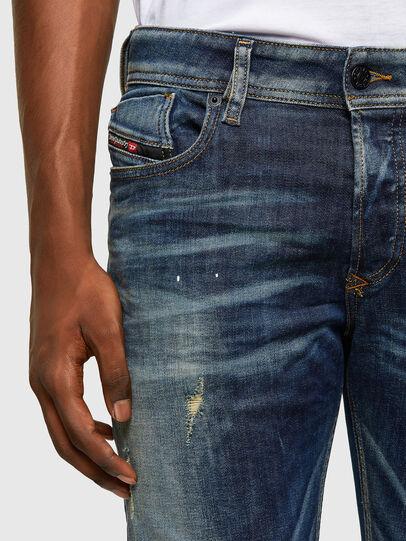 Diesel - Sleenker 0097L, Dunkelblau - Jeans - Image 3