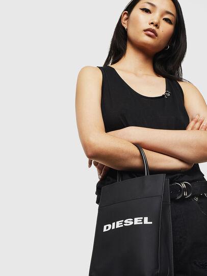 Diesel - SAKETTINO, Schwarz - Shopper und Schultertaschen - Image 6