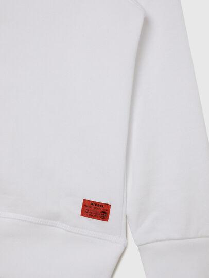 Diesel - UMLT-SBRANDONZ, Weiß - Sweatshirts - Image 4