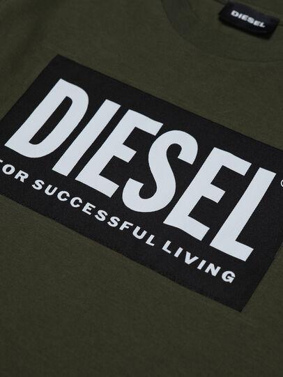 Diesel - TUSTY ML, Armeegrün - T-Shirts und Tops - Image 3