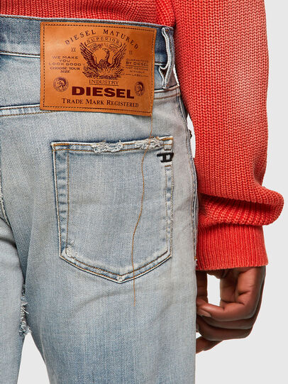 Diesel - D-Strukt 09A04, Hellblau - Jeans - Image 3
