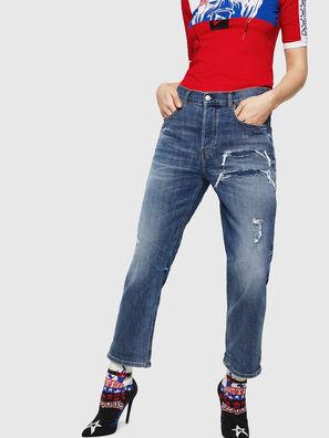 Aryel 0890X, Mittelblau - Jeans