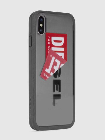 Diesel - STICKER IPHONE X CASE, Schwarz - Schutzhüllen - Image 4