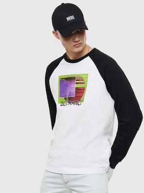 T-RODDI, Weiß/Schwarz - T-Shirts