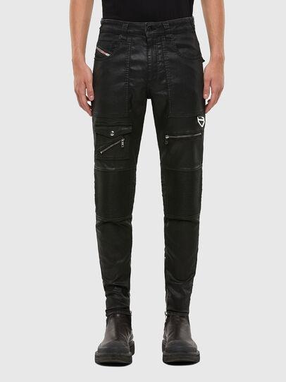 Diesel - D-Derrot JoggJeans® 069QY, Schwarz/Dunkelgrau - Jeans - Image 1