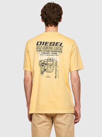 Diesel - T-JUBINDY-B1, Gelb - T-Shirts - Image 2