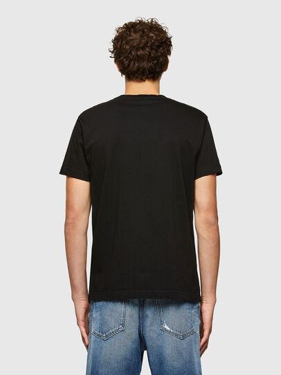Diesel - T-DIEGOS-A7, Schwarz - T-Shirts - Image 2