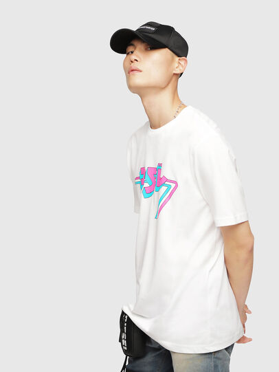 Diesel - T-JUST-YF,  - T-Shirts - Image 3