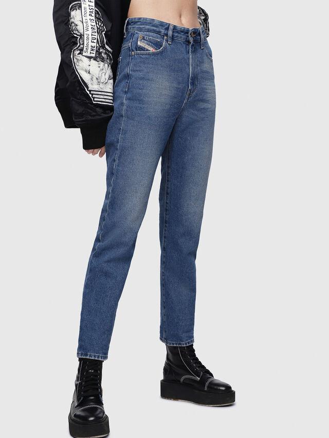Diesel - D-Eiselle 0076X, Mittelblau - Jeans - Image 3