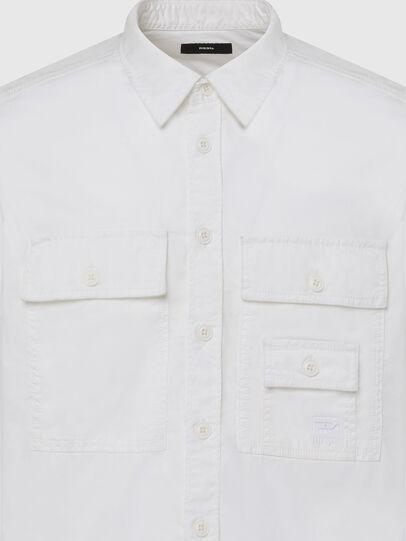 Diesel - S-ALLEN-KA, Weiß - Hemden - Image 3