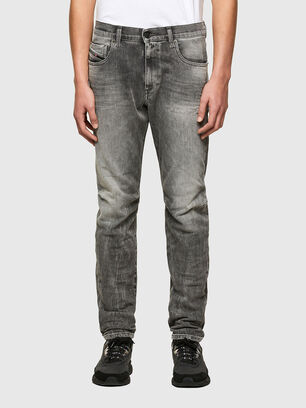 D-Strukt 009MY, Hellgrau - Jeans