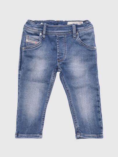 Diesel - KROOLEY-B-N JOGGJEANS, Hellblau - Jeans - Image 1