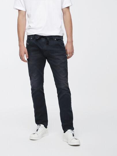 Diesel - Krooley JoggJeans 0670M, Dunkelblau - Jeans - Image 1