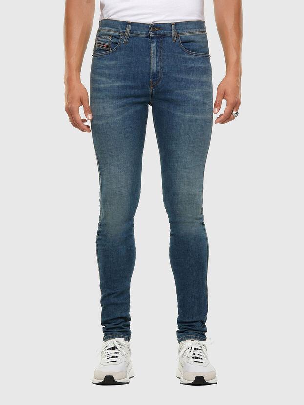 D-Istort 009HC, Mittelblau - Jeans
