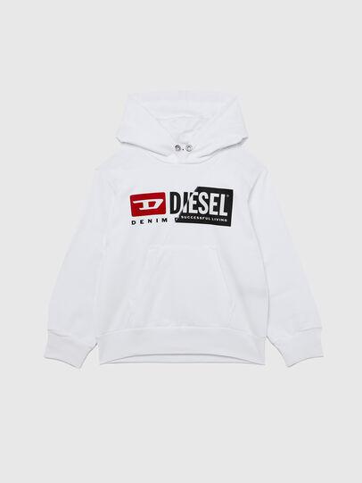 Diesel - SGIRKHOODCUTY OVER, Weiß - Sweatshirts - Image 1