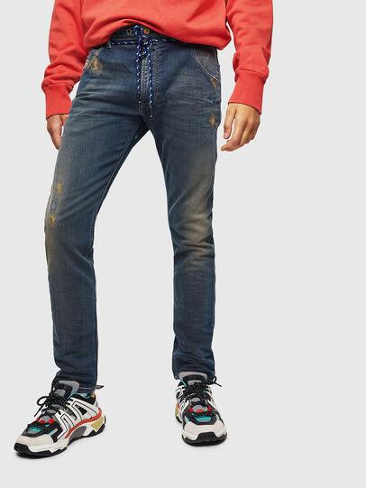 Diesel - Krooley JoggJeans 0870Z, Dunkelblau - Jeans - Image 1