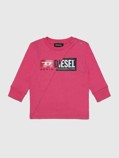 Diesel - TDIEGOCUTYB-FL ML, Rosa - T-Shirts und Tops - Image 1