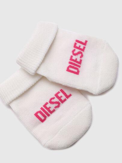 Diesel - ZEBET-NB, Weiss/Rosa - Weitere Accessoires - Image 3