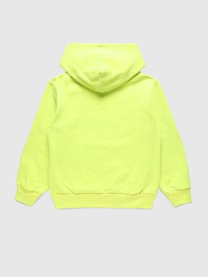 Diesel - SGIRKHOODCODE OVER, Neongrün - Sweatshirts - Image 2