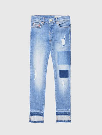Diesel - SKINZEE-LOW-J-N, Hellblau - Jeans - Image 1