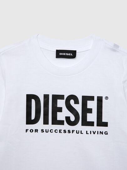 Diesel - TJUSTLOGOB ML-R, Weiß - T-Shirts und Tops - Image 3