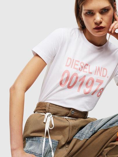 Diesel - T-SILY-001978, Weiß - T-Shirts - Image 4