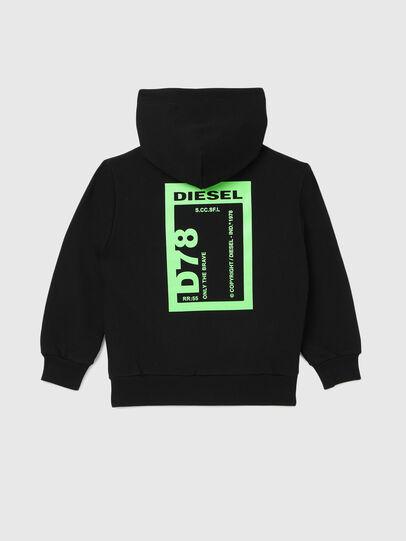 Diesel - SFULLZIP78 OVER, Schwarz - Sweatshirts - Image 2