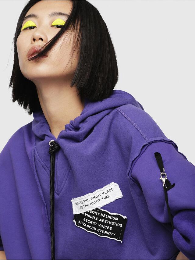 Diesel - F-MIKI, Violett - Sweatshirts - Image 3