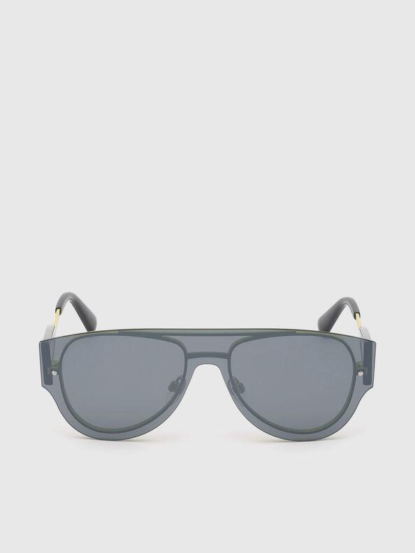 DL0273, Schwarz/Gelb - Sonnenbrille