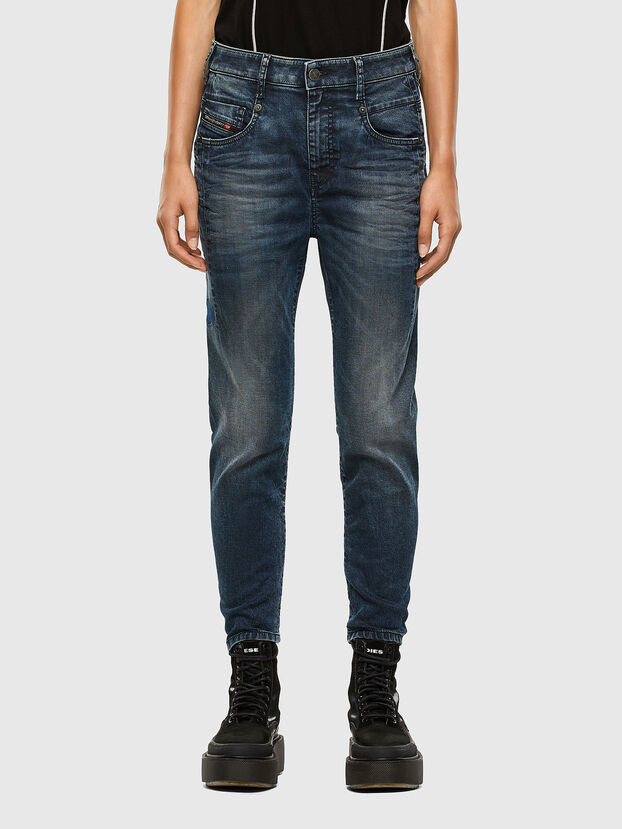 Fayza JoggJeans 069PD, Dunkelblau - Jeans