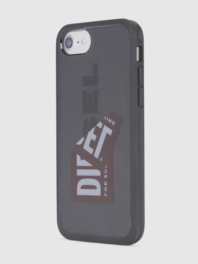 Diesel - STICKER IPHONE 8/7/6S/6 CASE, Schwarz - Schutzhüllen - Image 4