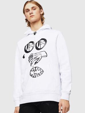 SNEILBOOD-X1, Weiß - Sweatshirts