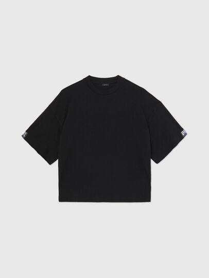 Diesel - UFTEE-SHORTEE, Schwarz - T-Shirts - Image 1