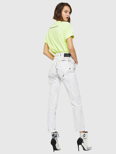 Diesel - T-JUST-SLITS-FLUO,  - T-Shirts - Image 6