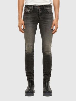 Sleenker 009JF, Schwarz/Dunkelgrau - Jeans