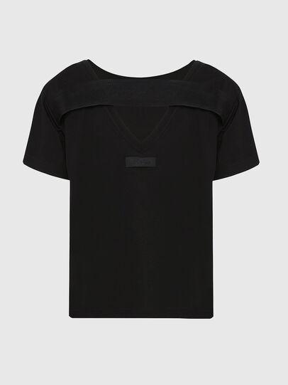 Diesel - T-RYLY, Schwarz - T-Shirts - Image 2