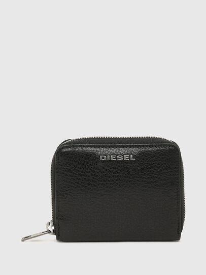 Diesel - CRASSU, Schwarz/Blau - Portemonnaies Zip-Around - Image 1