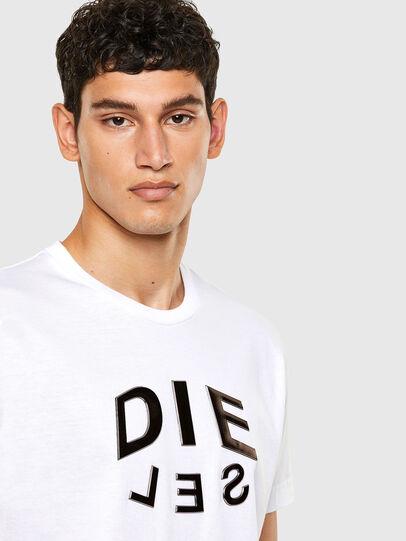 Diesel - T-DIEGOS-A1, Weiß - T-Shirts - Image 3