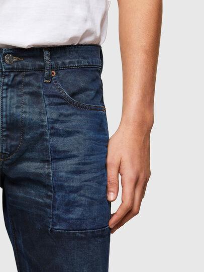 Diesel - D-Strukt JoggJeans® 069TY, Dunkelblau - Jeans - Image 4