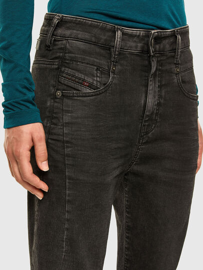 Diesel - Fayza JoggJeans 009HM, Schwarz/Dunkelgrau - Jeans - Image 3