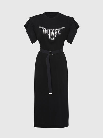 Diesel - D-FLIX-C, Schwarz - Kleider - Image 1