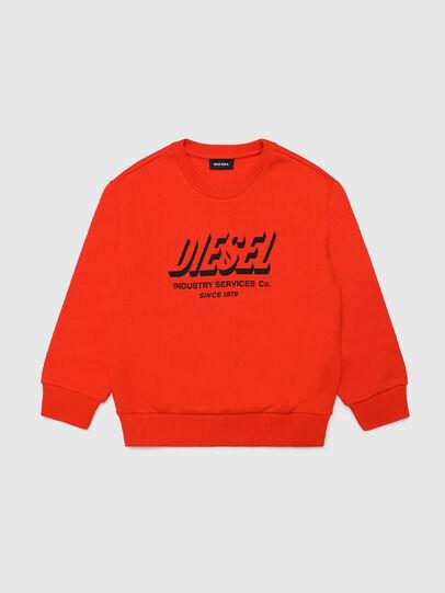Diesel - SGIRKA74 OVER, Orange - Sweatshirts - Image 1