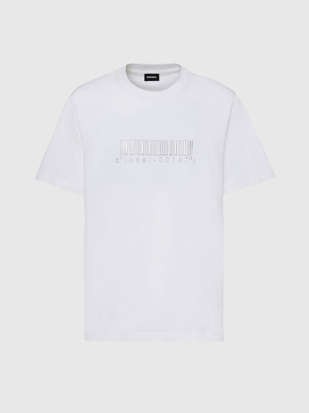 T-JUST-SLITS-X85, Weiß - T-Shirts