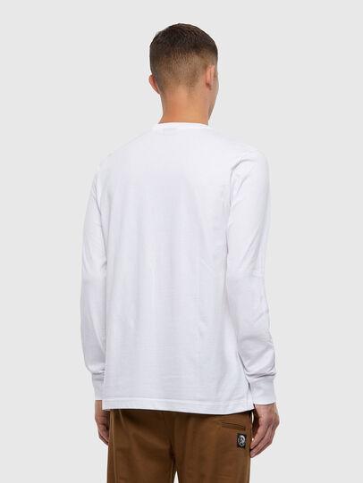 Diesel - T-JUST-LS-X93, Weiß - T-Shirts - Image 2