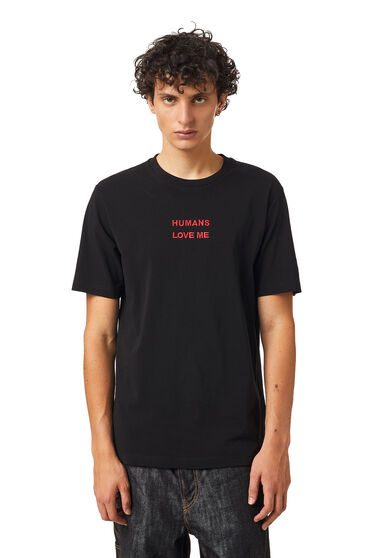 Green Label T-Shirt mit Alien-Print