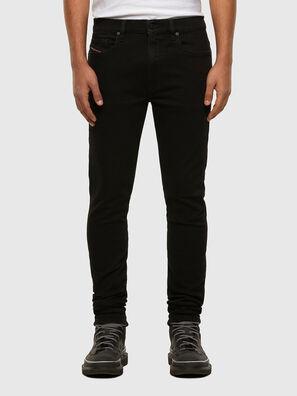 D-Amny 009HB, Schwarz/Dunkelgrau - Jeans