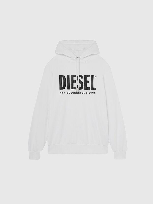 S-GIR-HOOD-DIVISION-, Weiß - Sweatshirts