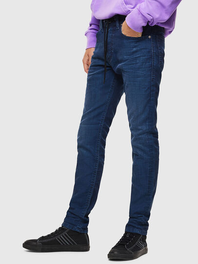 Diesel - Thommer JoggJeans 0098H, Mittelblau - Jeans - Image 4